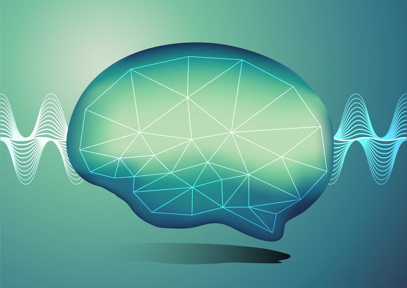 Typical brainwaves during deep sleep