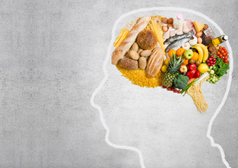 Gesunde Gehirn-Nahrung