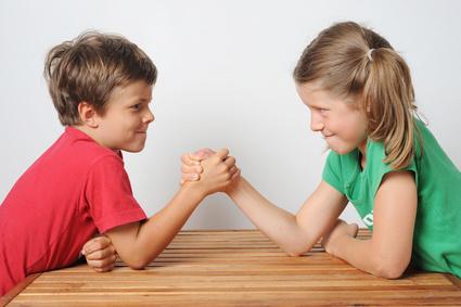 Besteht eine Konkurrenz zwischen Geschwistern?