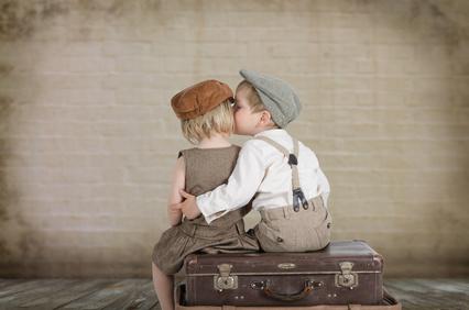 An den ersten Kuss erinnern