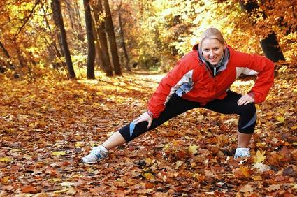 Sport fördert Durchblutung