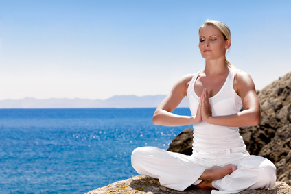 Meditation reduziert Stress